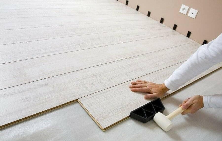 Настил ламината: подготовительные работы и процесс монтажа