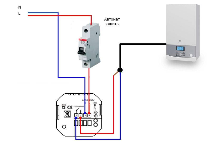 Комнатный термостат для газового котла – как работает температурный датчик