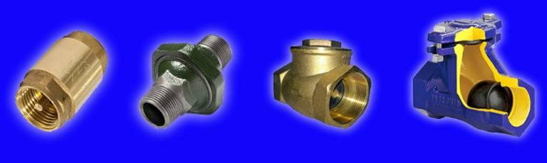 Виды и технические возможности обратного клапана для отопления