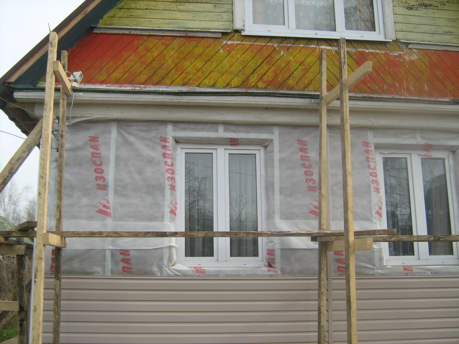 Технология утепления и обшивки дома под сайдинг