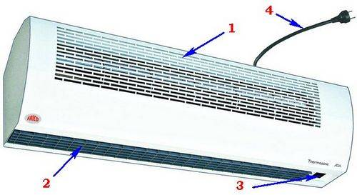 Экономим электроэнергию: тепловая завеса на входную дверь, и как правильно ее выбрать