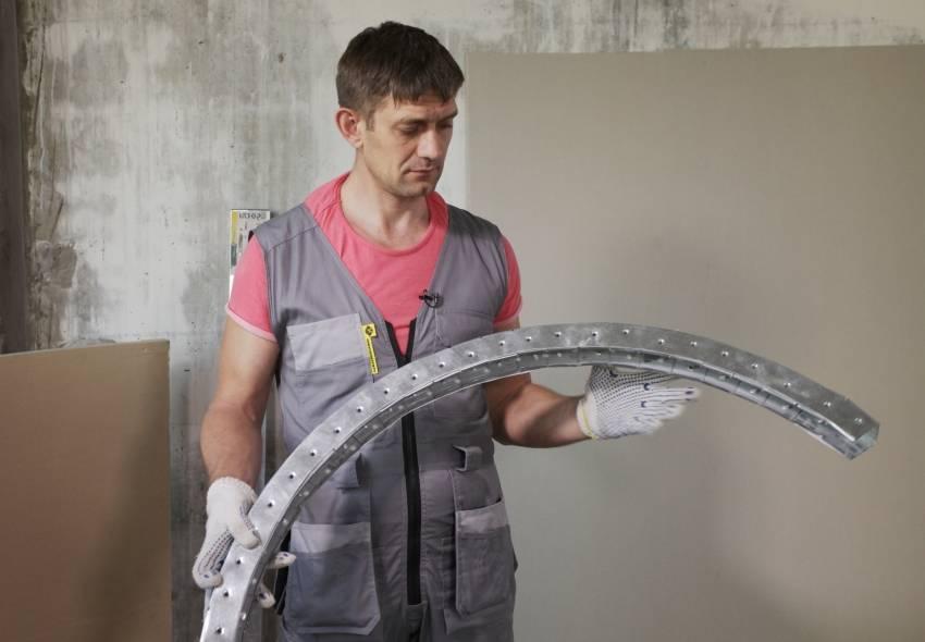 Как сделать арку из гипсокартона | гипсомания