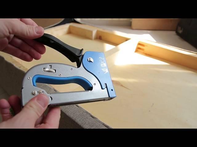 Как выбрать строительный степлер: разновидности, советы профи (видео)