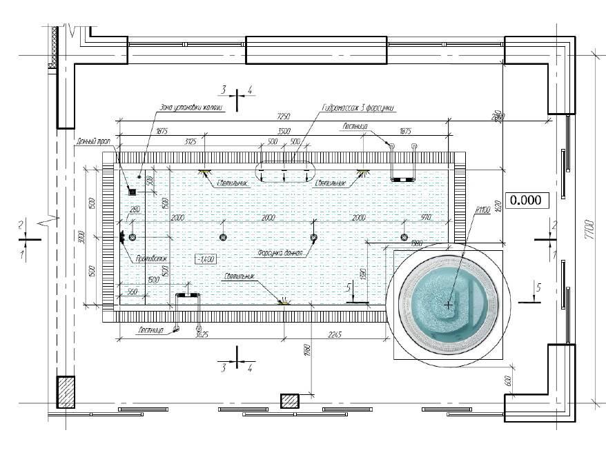 Как сделать бассейн в доме — инструкция
