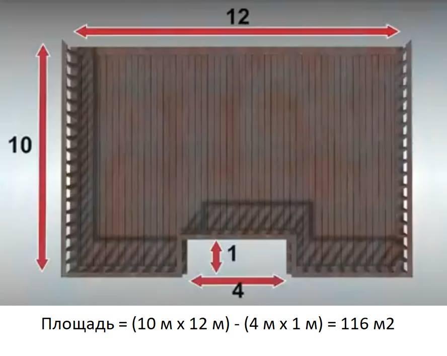 Онлайн-калькулятор расчета количества ламината