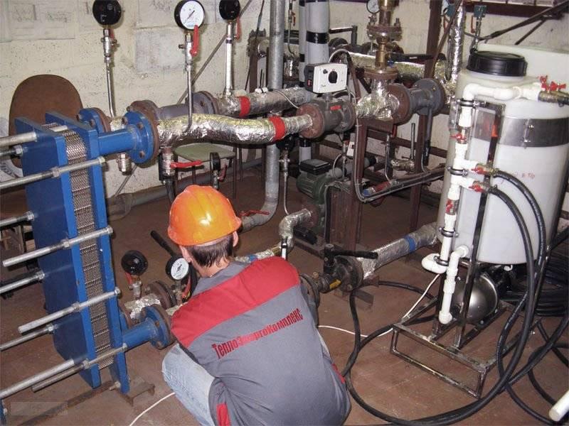 Установка для гидравлических испытаний трубопроводов