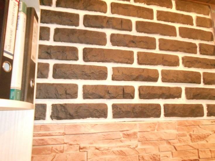Как сделать кирпичную стену в интерьере своими руками