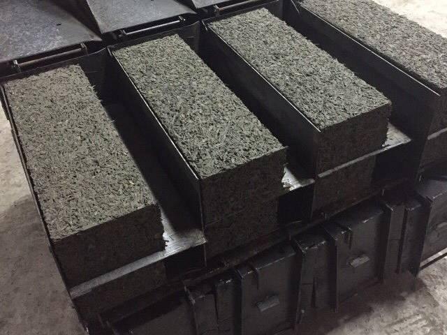 Изготовление арболитовых блоков