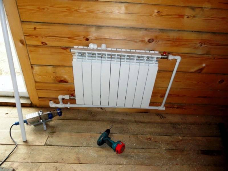 Установка радиаторов отопления, видео как правильно делать монтаж