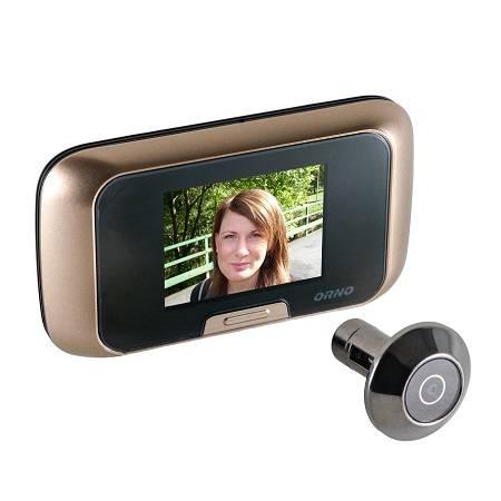 Видеоглазок для входной двери: проводной электронный глазок-камера с датчиком движения на дверь в квартиру
