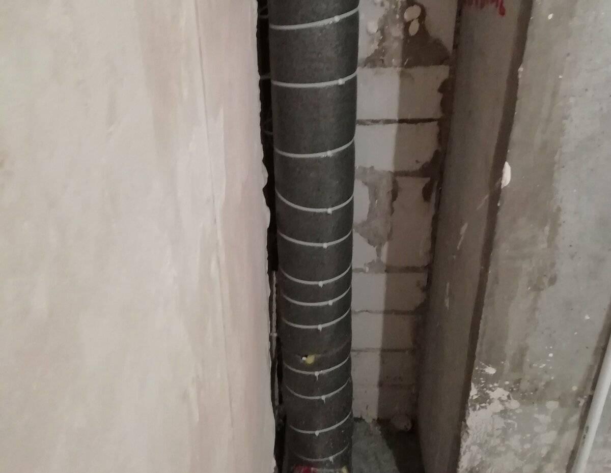 Шумоизоляция канализационного стояка: звукоизоляция труб канализации своими руками