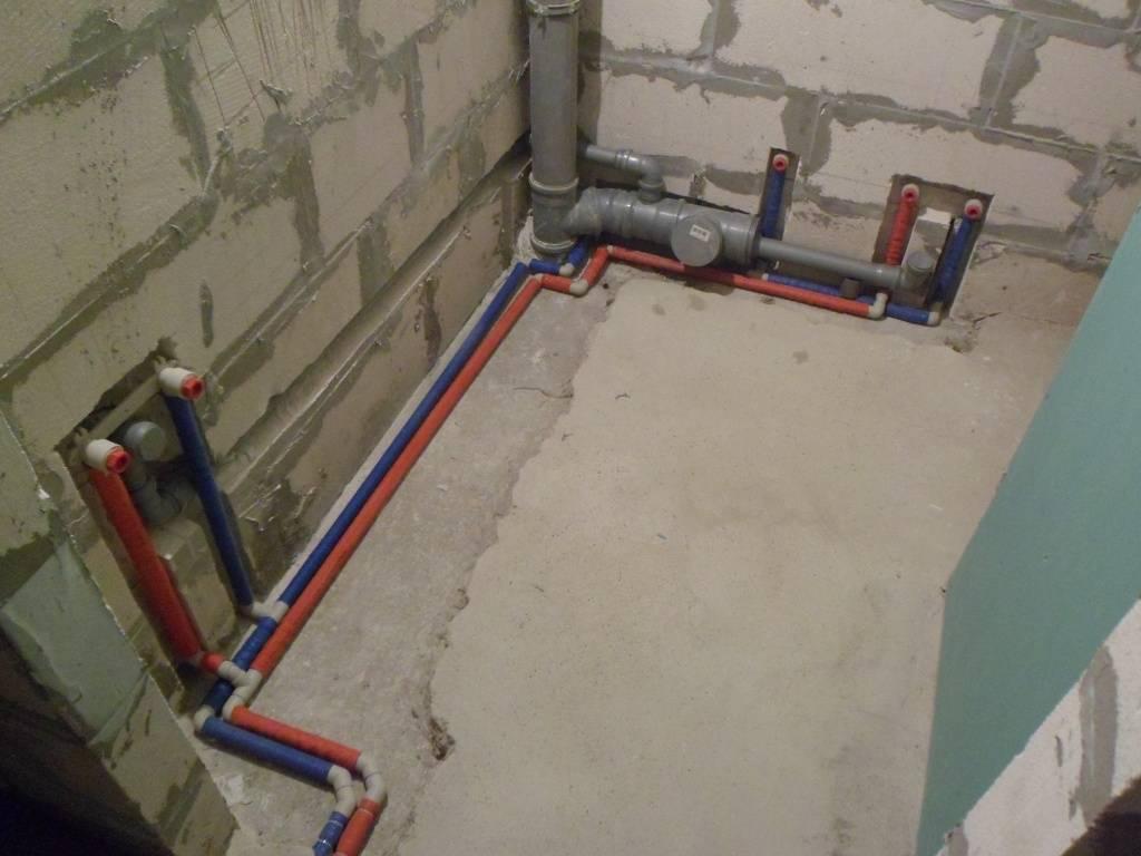 Разводка труб отопления: как проложить трубы в частном доме, схема прокладки, расположение