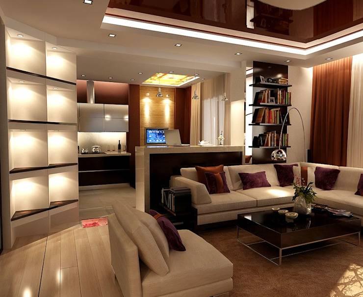 Варианты дизайна двухкомнатной квартиры, фото – rehouz