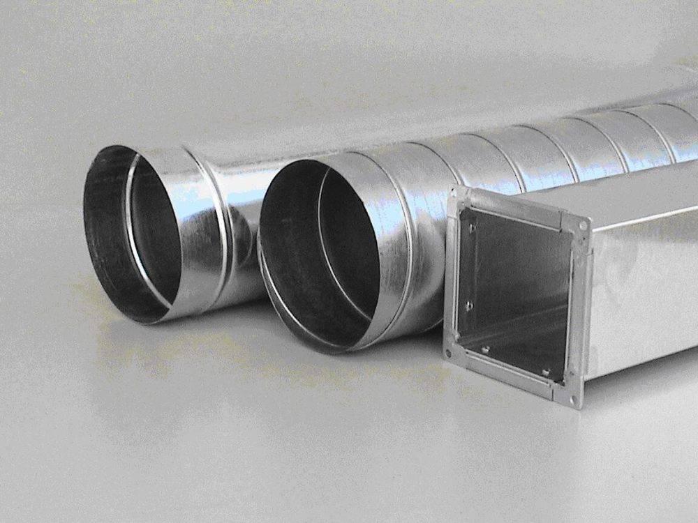 Особенности и установка оцинкованных воздуховодов для вентиляции