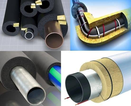 Как утеплить водопроводную трубу в земле: варианты, особенности монтажа