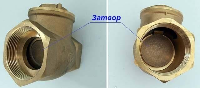 Предназначение обратного клапана для отопления