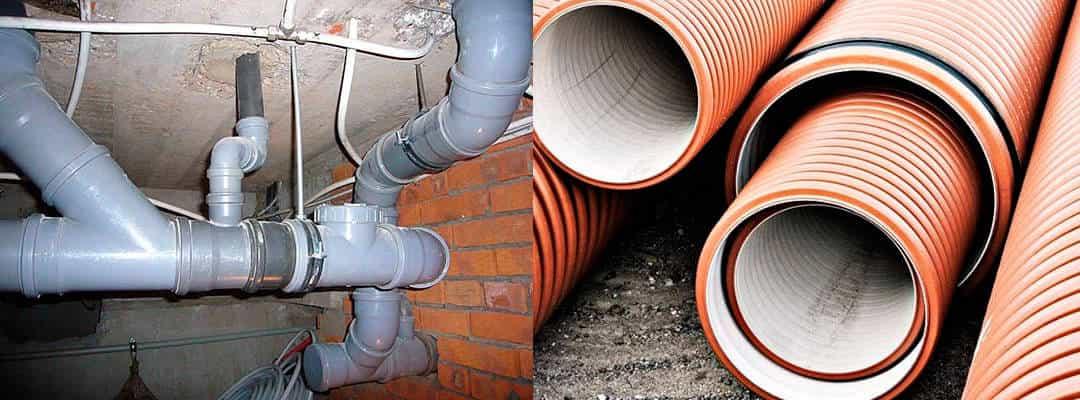 Диаметр канализационной трубы: изделия большого размера для частного дома, какие бывают варианты для канализации в квартире