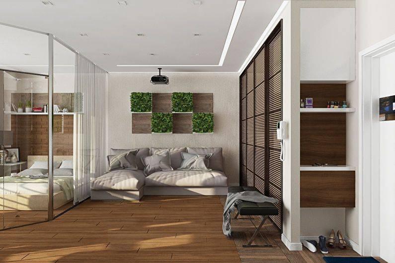Дизайн интерьера средней квартиры  (от 31 до 59 кв.м.)