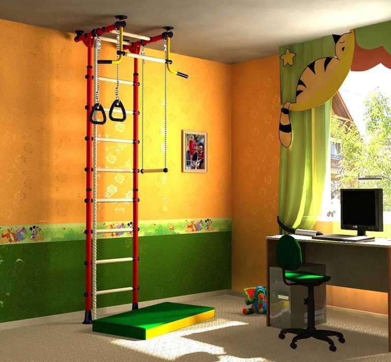 Спортивный уголок своими руками - 145 фото как сделать детский спорт комплекс