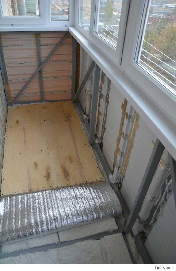 Как утеплить потолок на балконе: утепление потолка на лоджии своими руками, нужно ли утеплять