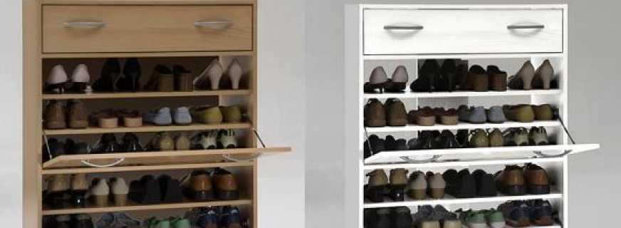 Обувницы с сиденьем в прихожую: виды и выбор