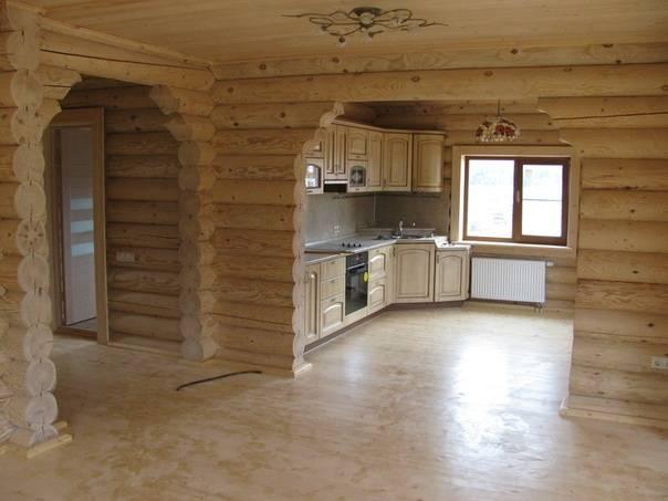 Внутренняя отделка деревянного дома в современном стиле: коммуникации, отделка стен