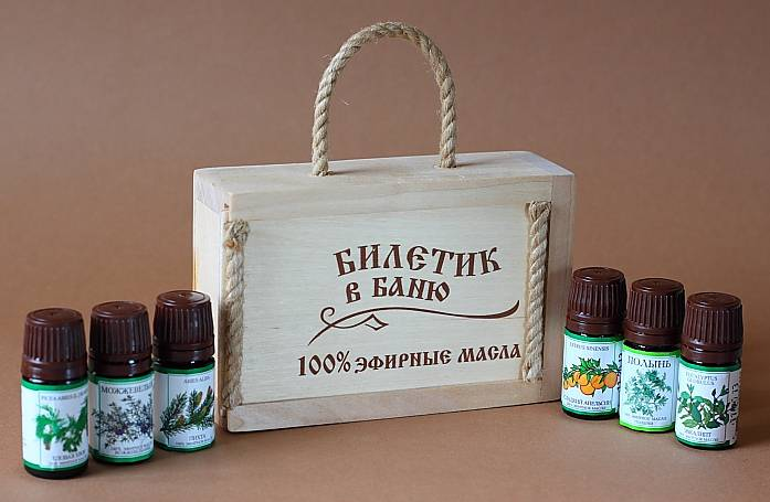 Эфирные масла для бани и сауны: применение и противопоказания