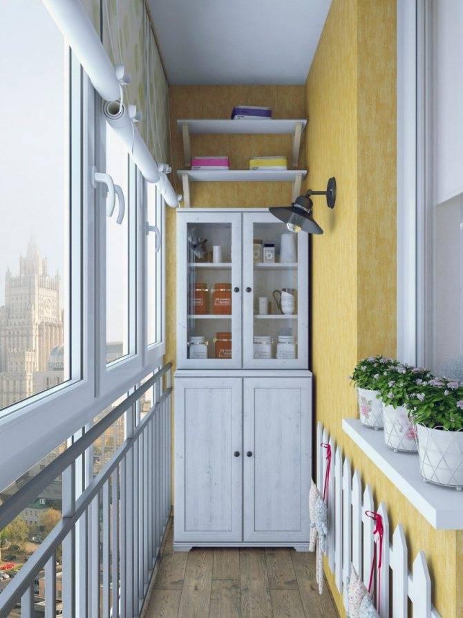 Шкаф на балкон своими руками - инструкция (12 фото)