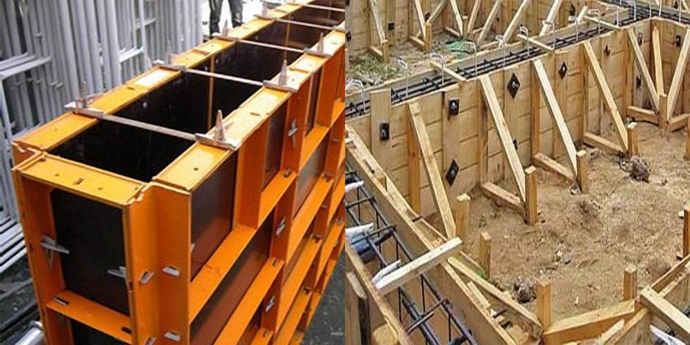 Правила выполнения монтажа опалубки стен, фундамента и перекрытий