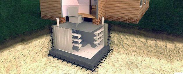 ✅ современный готовый погреб из пластика для дачи - сад62.рф
