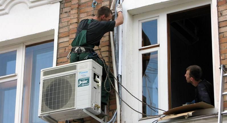 Особенности установки кондиционера на утепленных и вентилиру...