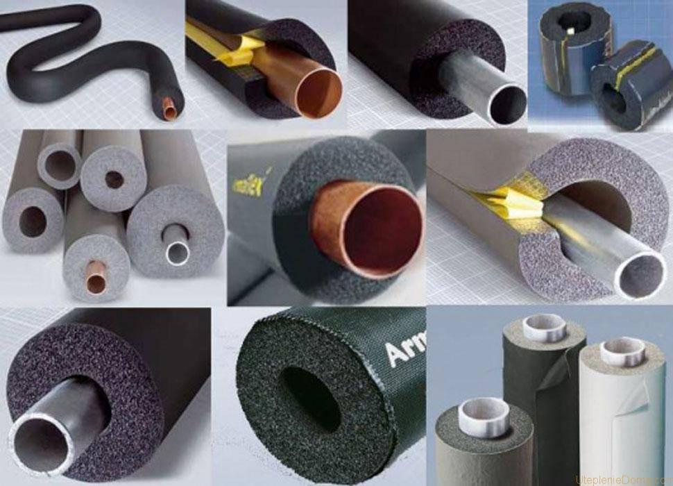 Как утеплить водопроводную трубу в земле, какой материал лучше использовать