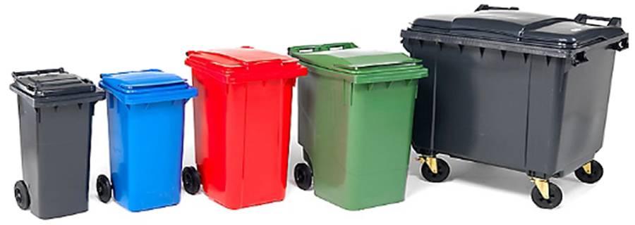Мусорные контейнеры: пластиковые, металлические, евроконтейнеры