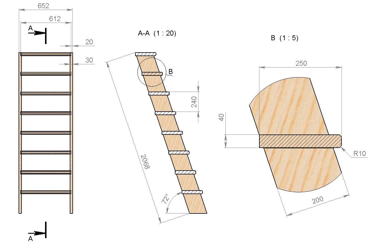 Как сделать лестницу в погреб своими руками — варианты и технологии строительства