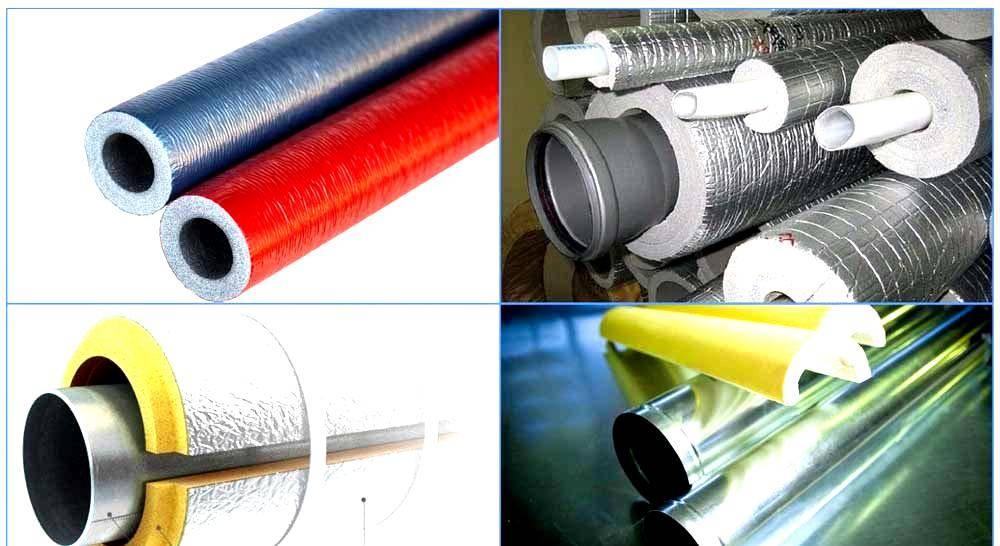 Теплоизоляция для труб отопления на открытом воздухе: виды материалов для теплоизоляции труб системы отопления