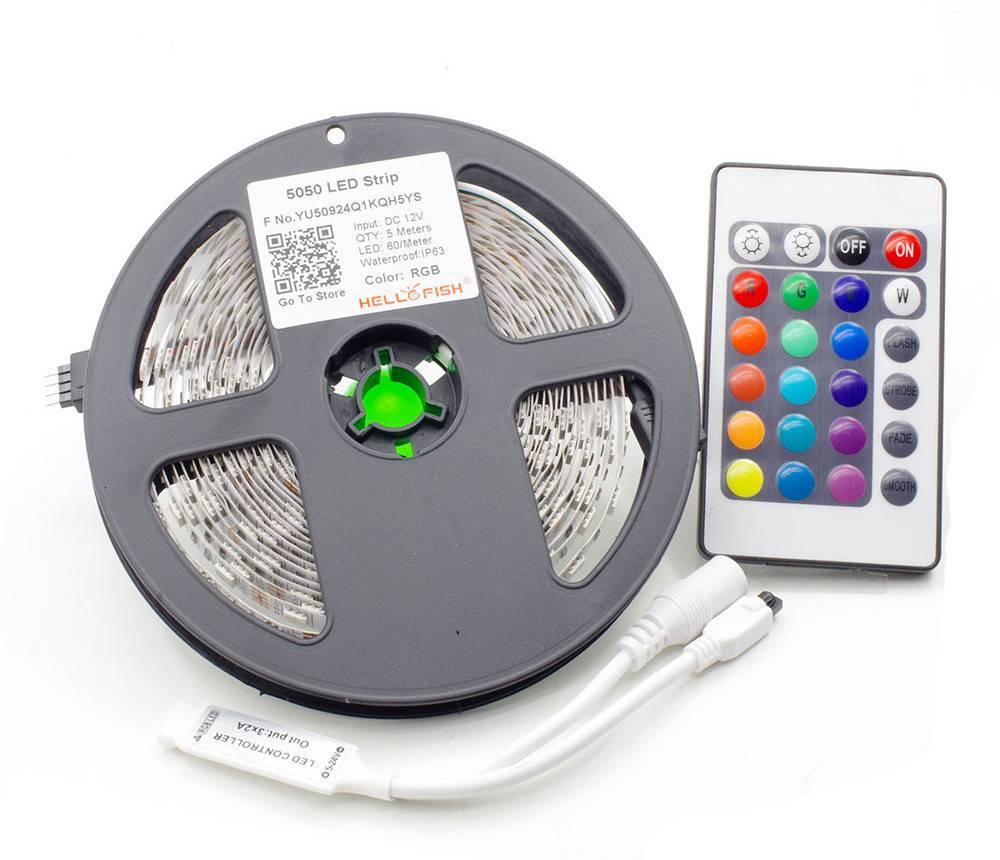Как подключить и настроить светодиодную RGB ленту