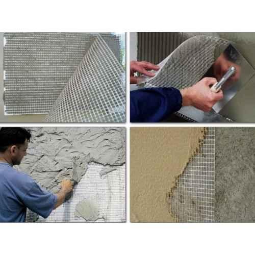 Стеклотканевая штукатурная сетка: сеть для штукатурки, расход материала