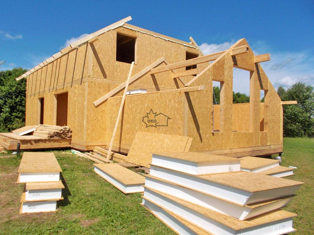 Особенности канадской технологии строительства каркасных домов