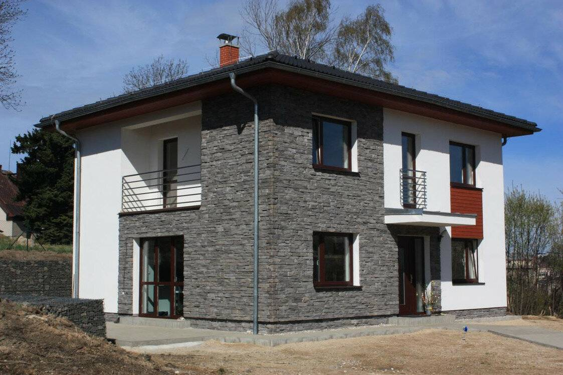 Наружная отделка дома из газобетона: особенности и варианты