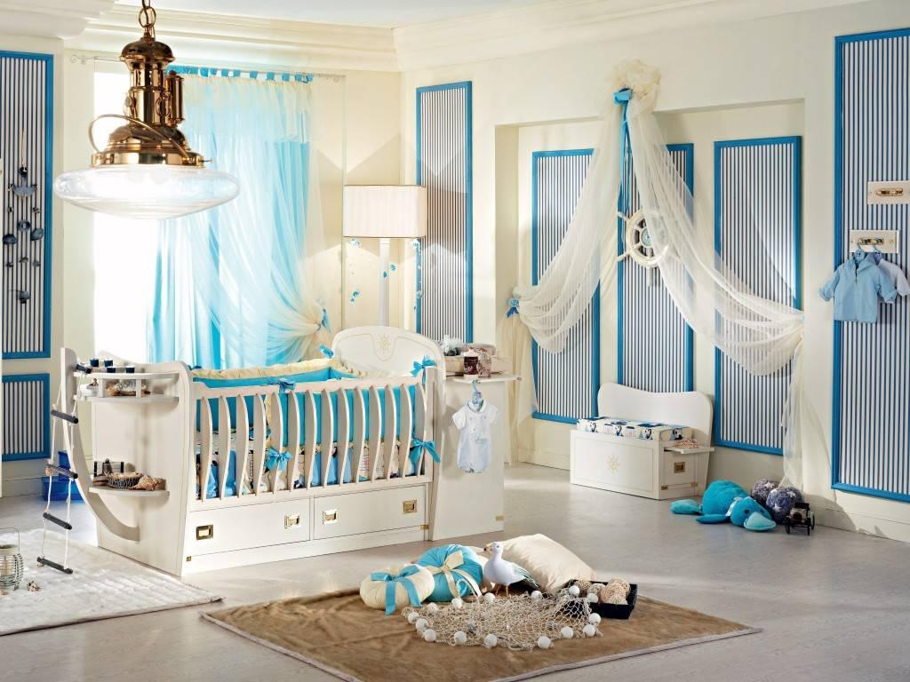 Комната для новорожденного (30 фото): лучшие идеи интерьеров для мальчика и девочки