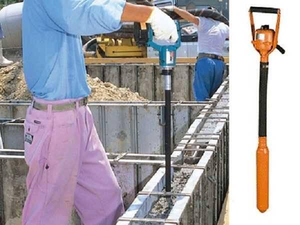 Как сделать глубинный вибратор для бетона своими руками