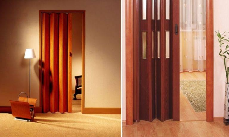 Особенности изготовления дверей-гармошка своими руками