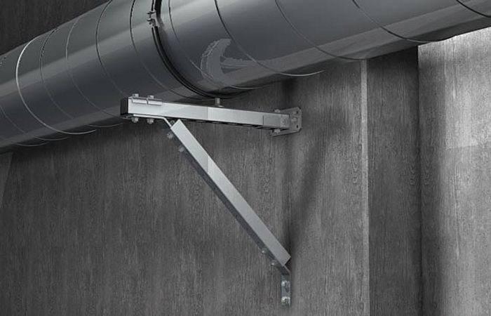Крепеж для вентиляции: видео-инструкция по монтажу своими руками, вентиляционные крепежные изделия, фото и цена