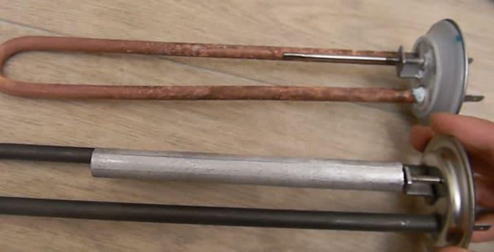 Магниевый или алюминиевый анод для водонагревателя - домэконом