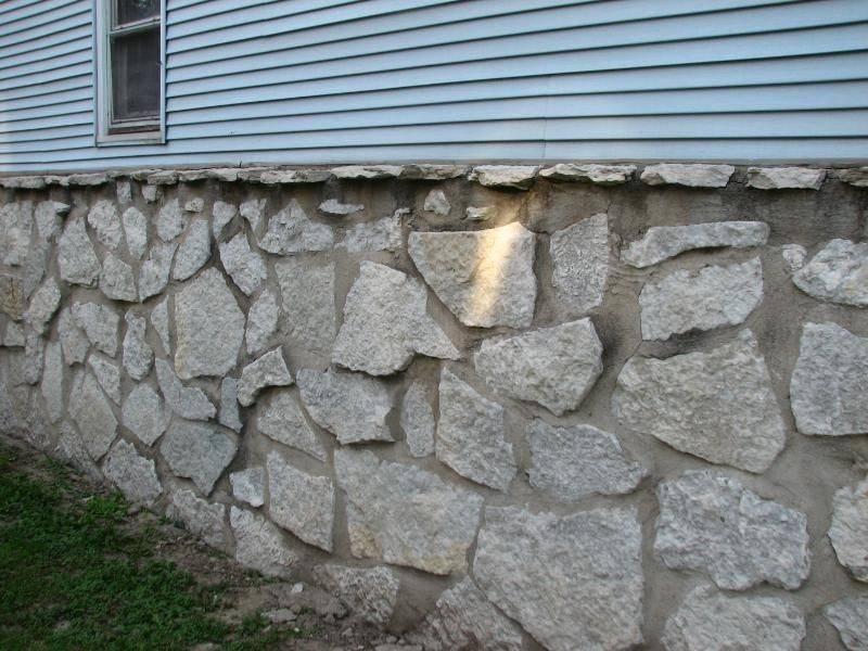 Как и чем отделать фундамент дома своими руками дешево под камень