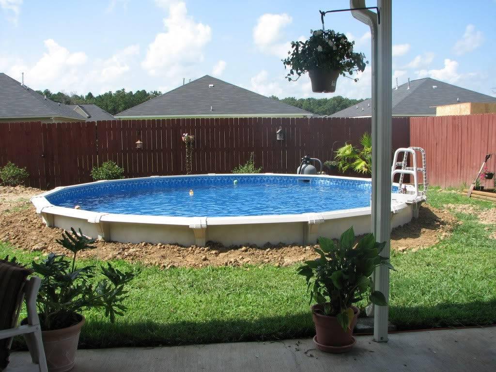 Как построить бассейн во дворе дома или дачи без помощи профессиональных мастеров