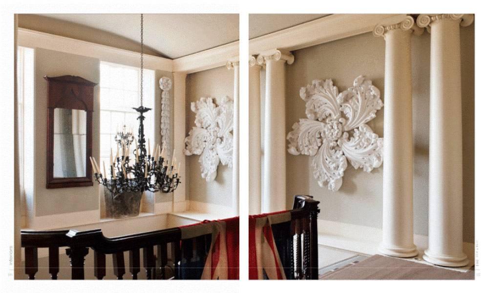 Декоративные молдинги в интерьере современной квартиры: фото и примеры