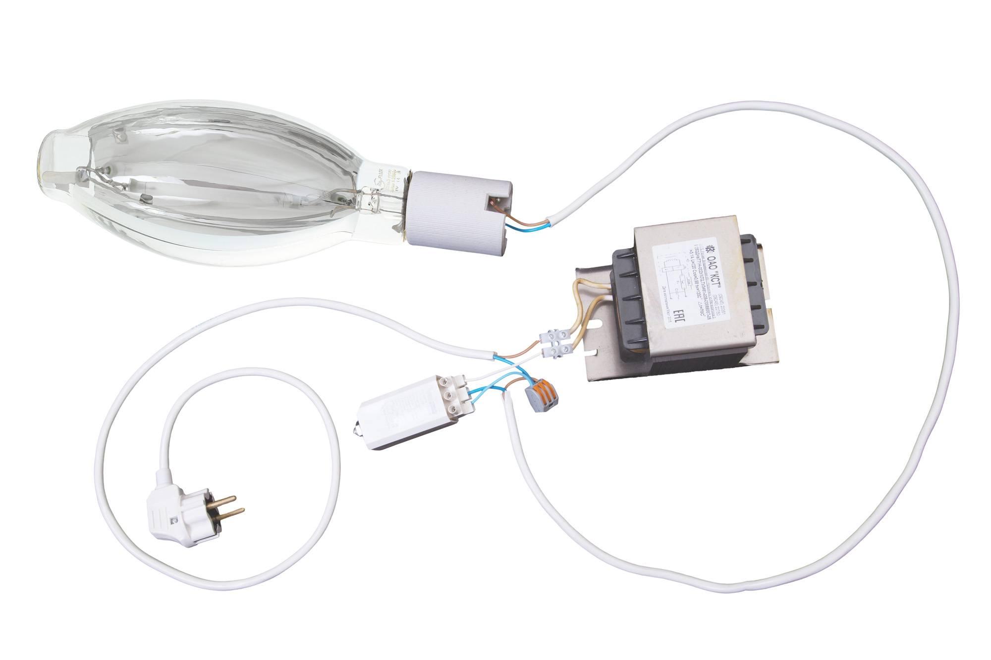 Лампа днат: что это, какие бывают натриевые лампы высокого и низкого давления, схема подключения, использование для растений
