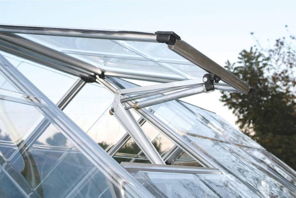 Создание вентиляции в теплице из поликарбоната