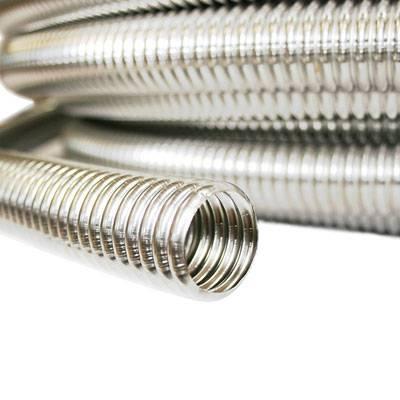 Гибкая гофрированная труба   цены на гибкий трубопровод в москве